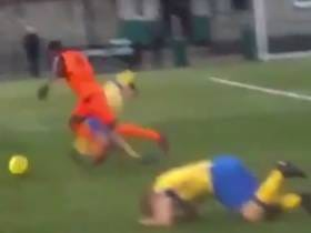 I Can Watch This Soccer Player Breaking His Opponents Ankles All Day