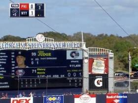 Aaron Judge Just Hit A Missile That Almost Cleared The Scoreboard
