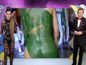 Showing A Body Painted Chick's Asshole On Live TV Is Apparently A No-No In Brazil