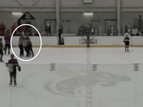 Junior College National Title Game Ends After Player Leaves The Penalty Box And Decks The Ref Straight To Hell