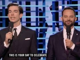 The Best Award Show Moment From This Weekend Was John Mulaney And Nick Kroll's Monologue At The Spirit Awards