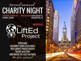 The LiftEd Project, A Charity Run By Good Stoolies For A Greater Cause, Is Throwing A BANGER This Sat Night In Philly