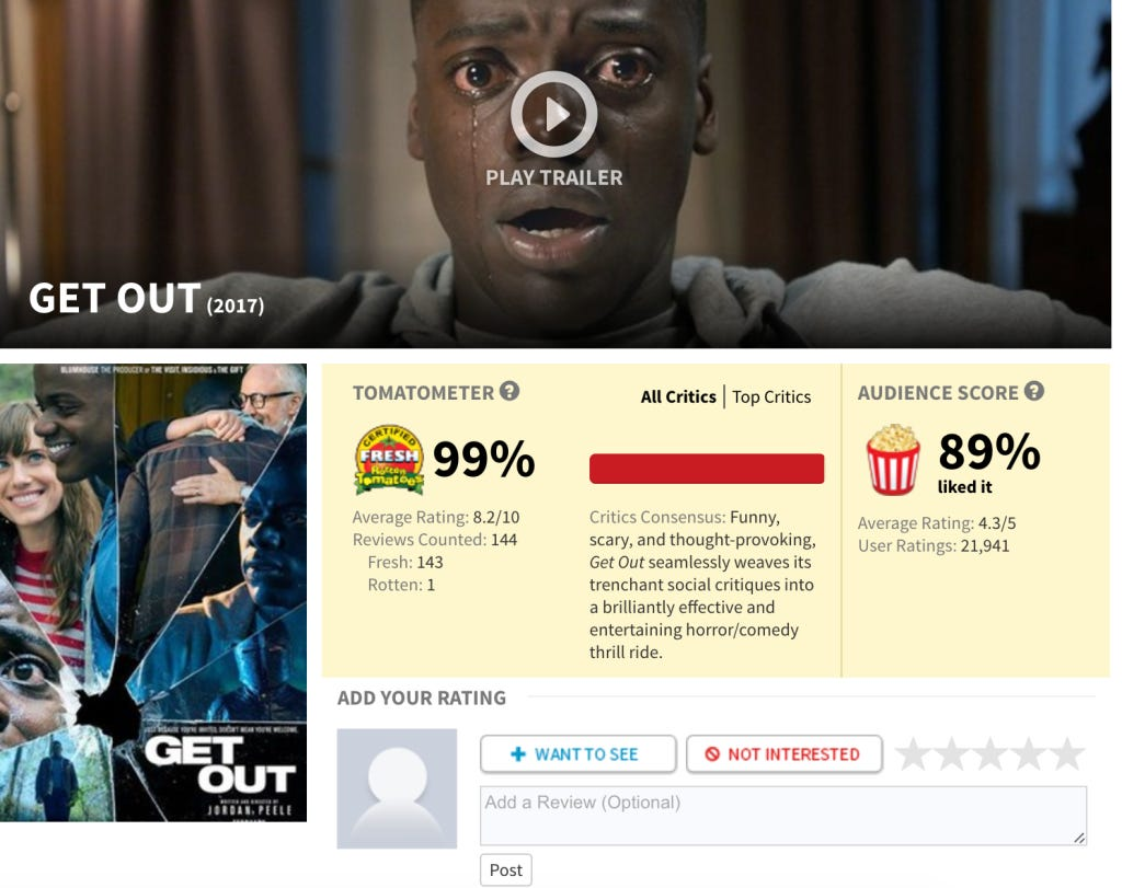 The Same Critic Who Ruined Toy Story 3\'s Perfect Rotten Tomatoes ...
