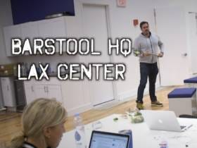 Barstool Exclusive - Tour Of Our Brand New Second Floor Lacrosse Practice Center