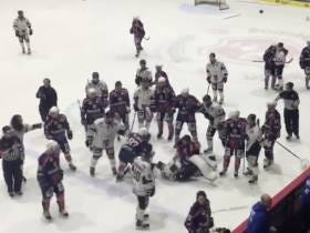 Let This German Hockey Brawl Involving Players And Coaches And Refs And Everybody Else Get You Through The Rest Of Monday