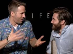Ryan Reynolds And Jake Gyllenhaal Have Ceased Giving A Fuck About Press Junket Interviews