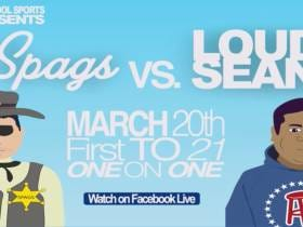 If You Aren't Watching Spags Vs Loud Sean On The Barstool App Tomorrow You're Missing Out
