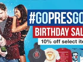 In Honor Of My Birthday All Pres Gear Is 10% off