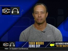 SVP Finally Asked Tiger The Question We All Want The Answer To: What Is Going On With Your Hair?