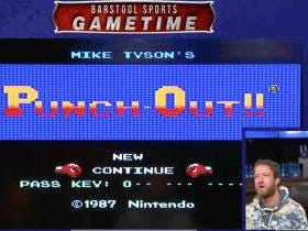 Barstool Gametime Featuring El Pres Fighting Vs Tyson And Playing Tecmo Bowl On NES