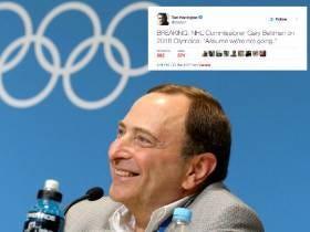 Gary Bettman On The 2018 Olympics: