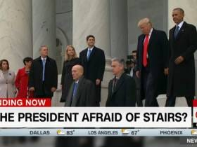 Is Trump Afraid Of Stairs? A CNN Exclusive