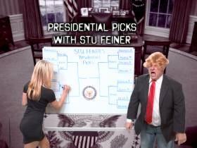Stu Feiner's Sweet Sixteen Presidential Bracket