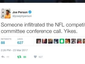 Pardon My Take Joined The NFL Competition Committee Conference Call Today, Thanks Roger!