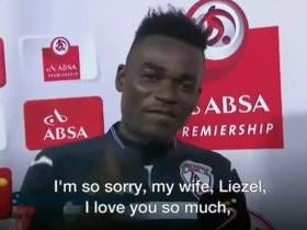 That Viral Soccer Player Who Thanked His Wife And Girlfriend? He Says There's A TOTALLY Logical Explanation