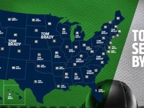 Tom Brady Becomes the First NFL Player to Lead All 50 States in Jersey Sales