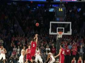 Zak Showalter's Game Tying 3 Was A Level 10 Difficulty Shot To Save Wisconsin
