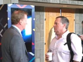 Bill Belichick Wants To Punch Roger Goodell's Head Clean Off His Body