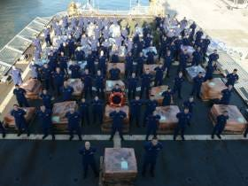 The Coast Guard Could Not Be More Proud Of This 16 Ton/$420 Million Cocaine Bust