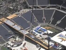 The Set And Ramp For Wrestlemania Are MASSIVE