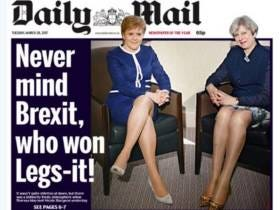 People Are Super Pissed About This Daily Mail Cover And Calling It Sexist