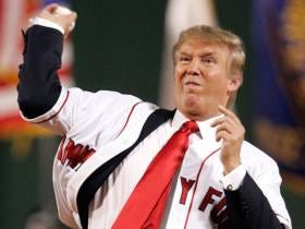 It Stinks That Trump Won't Be Throwing Out The First Pitch At The Nats Game