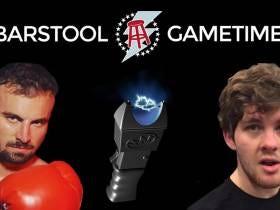 On The Next Barstool Gametime: Smitty Vs. Tex In NCAA Football - Winner Tases The Loser