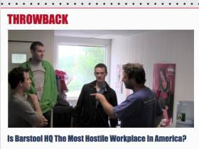 Random Thoughts Throwback - Is Barstool HQ The Most Hostile Work Environment In America?