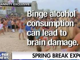 My Favorite Tradition...Fox News Sends A Reporter To Spring Break