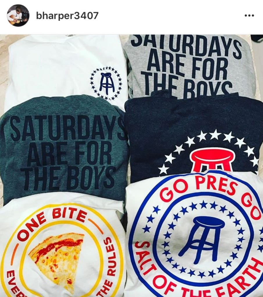 Bryce harper respects the saftb game more than anyone for Bryce harper mvp shirt