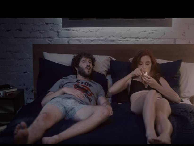 "rooz Lil Dicky Drops A 10 Minute Long Video For ""Pillow Talking"" About One Night Stands image"