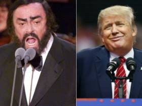 Trump Claims He And Pavarotti (A Dead Person) Are The Best Of Friends