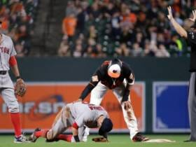 Dylan Bundy Dominates Red Sox, But Is Overshadowed By Manny Machado's Slide