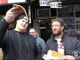 Barstool Pizza Review - Pizza Gaga With Special Guest Richie Incognito