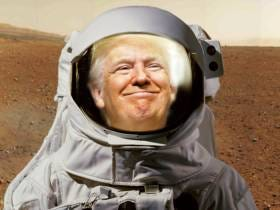 I Hope So Much That Trump's Legacy Is He Sent The First Humans To Mars