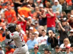 Back-To-Back Homers By Mookie Betts And Hanley Ramirez Help Salvage The Series In Baltimore