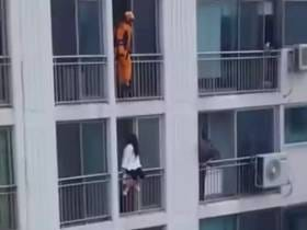 A Firefighter Dropkicked A Suicidal Korean Schoolgirl Off A Balcony In A Hilarious Act Of Heroism