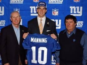 Let's Talk About Eli Manning And The Giants Drafting A Quarterback