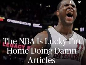 Dion Waiters's Players Tribune Article Talking Shit About How Teams Are Lucky He's Not In The Playoffs Is An A+ Move