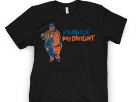 RED ALERT: Frankie Midnight Shirts NOW ON SALE