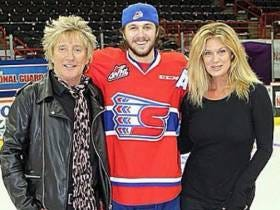 Why Did I Never Know Rod Stewart Has A Son Who Is Actually Good And Not Bad At Hockey?