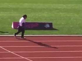 101-Year-Old Woman Winning A 100 Meter Dash Race Because She Was The Only Runner To Show Up For The 100+ Age Category Is Utter Malarkey