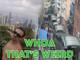 Whoa That's Weird: World's Longest Escalator System