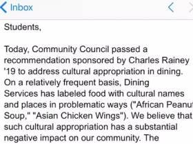 Middlebury Got Rid Of Some 'Cultural Appropriation' Food Items And A Student Gave A Quality Email Burn Back