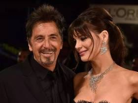 Al Pacino Just Turned 77 Years Old, Still Grabbing Handfuls Of Tit From His 40 Years Younger Chick During A Stroll On The Beach