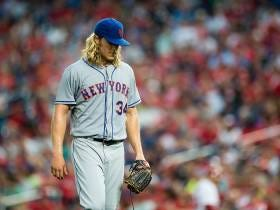 Noah Syndergaard Scratched From Today's Start With A Dead Arm Annnnnnnd Panic Has Officially Consumed Mets Fans