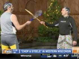 A TV Station Is Suing Comedians For Falsely Posing As A Strongman Duo On Its Morning Show And Doing OUTRAGEOUS Workouts
