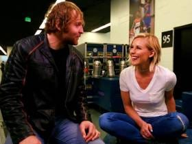 Dean Ambrose And Renee Young Had A Weirdo Wedding At 1AM In Their Backyard