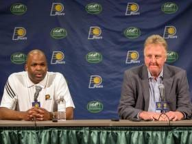 Larry Bird Is No Longer President Of The Indiana Pacers