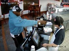 Jimmy Johns Employee Couldn't Care Less About Having A Gun Shoved In His Face